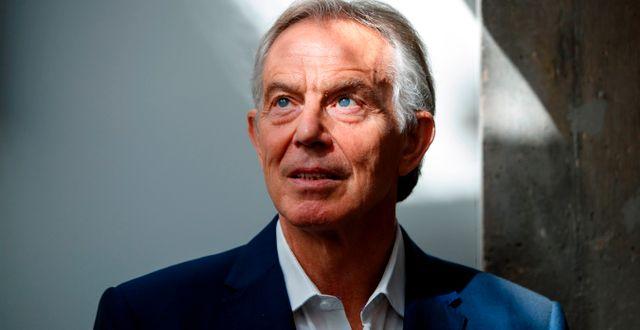 Tony Blair TOLGA AKMEN / AFP