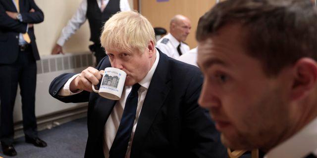 Storbritanniens premiärminister Boris Johnson. Jon Super / TT NYHETSBYRÅN/ NTB Scanpix