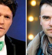 Författarna Daniel Sjölin och Jerker Virdborg. Scanpix
