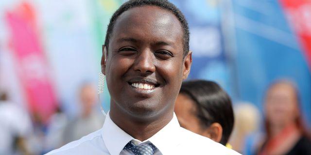 Ahmed Abdirahman är en av arrangörerna bakom Järvaveckan.   SÖREN ANDERSSON