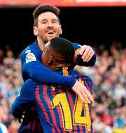 Lionel Messi. Arkivbild. LLUIS GENE / AFP