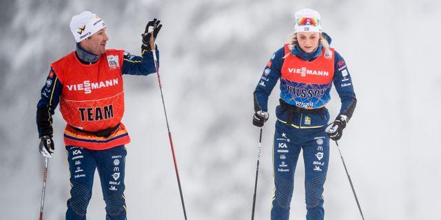 Urban Nilsson och Stina Nilsson. Arkivbild. PETTER ARVIDSON / BILDBYRÅN