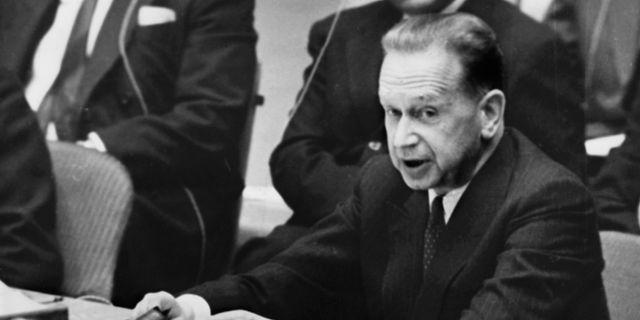 Dag Hammarskjöld. UPI / TT / / TT NYHETSBYRÅN