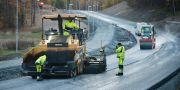 Illustrationsbild: Väg- och anläggningsarbetare i Enköping. FREDRIK SANDBERG / TT / TT NYHETSBYRÅN