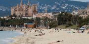 Stranden i Palma på Mallorca. Isaac Bu / TT NYHETSBYRÅN