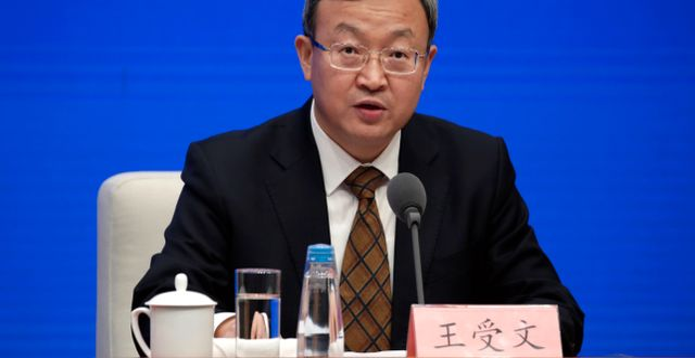 Chinese Vice Commerce Minister and Deputy International Trade Representative Wang Shouwen. JASON LEE / TT NYHETSBYRÅN