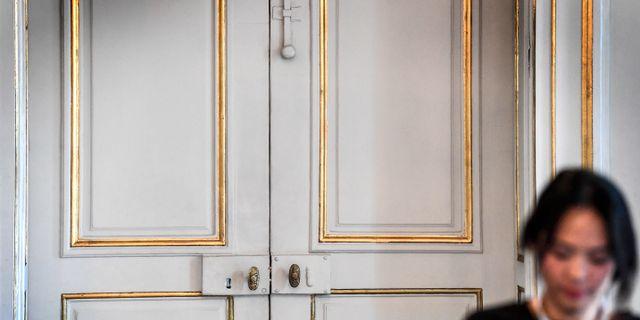 Dörren som öppnas när Nobelpriset i Litteratur tillkännages. Anders Wiklund/TT / TT NYHETSBYRÅN