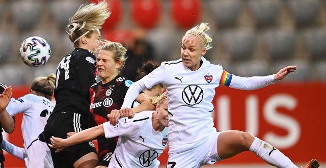 Bild från matchen igår. LENNARTPREISS / BILDBYRÅN