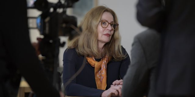 Birgitte Bonnesen.  Janerik Henriksson/TT / TT NYHETSBYRÅN