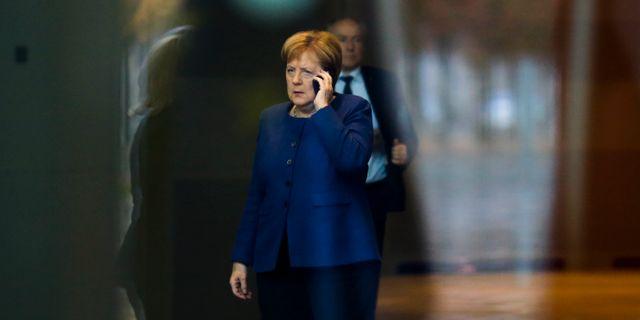 Angela Merkel. Markus Schreiber / TT NYHETSBYRÅN/ NTB Scanpix