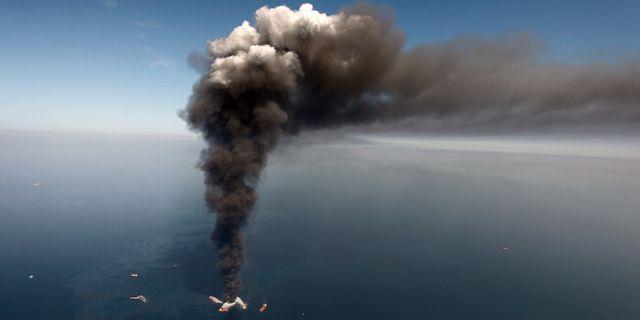 Deepwater Horizon. Arkivbild. Gerald Herbert / TT / NTB Scanpix