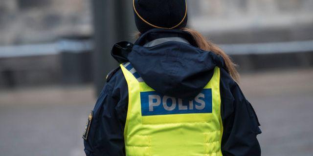 Arkivbild, polisen på bilden har inget med nyheten att göra. Johan Nilsson/TT / TT NYHETSBYRÅN