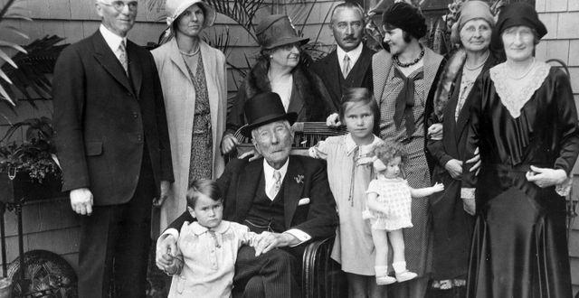 Familjen Rockefeller.  ENGELBRECHT / TT NYHETSBYRÅN