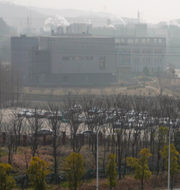 En forskare ur WHO:s expertgrupp i Wuhan / Labbet på Wuhans virologiska institut som WHO-teamet besökt TT
