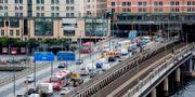Bilköer i Stockholm. Christine Olsson/TT / TT NYHETSBYRÅN