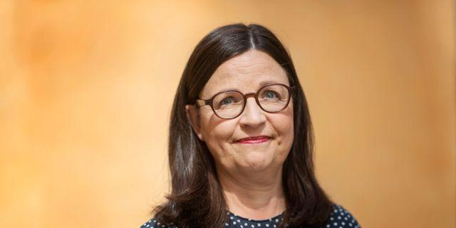 Utbildningsminister Anna Ekström (S. Stina Stjernkvist/TT / TT NYHETSBYRÅN