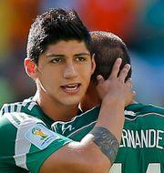 Alan Pulido under VM i Brasilien. Eduardo Verdugo / TT / NTB Scanpix