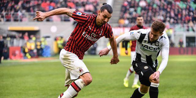 Zlatan Ibrahimovic. MARCO BERTORELLO / AFP
