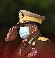 Min Aung Hlaing Ye Aung Thu / TT NYHETSBYRÅN