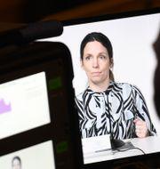 Sara Byfors, enhetschef, Folkhälsomyndigheten. Carl-Olof Zimmerman/ TT / TT NYHETSBYRÅN