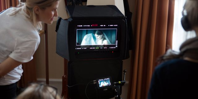 """Inspelning av Guldbaggenbelönade Lisa Aschans film """"Ring Mamma!"""". Henrik Brunnsgård/TT / TT NYHETSBYRÅN"""