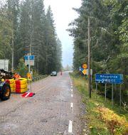 Gränsövergången vid Holtet, Haldens kommun. Henrik Diskerud Meyer / Halden kommune / TT NYHETSBYRÅN