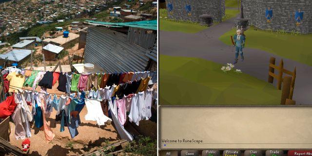 Slumområde i Caracas/Runescape TT/Runescape