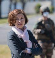 Frankrikes försvarsminister Florence Parly. LOIC VENANCE / TT NYHETSBYRÅN