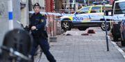 Polisinsatsen på Möllevången. Johan Nilsson/TT / TT NYHETSBYRÅN