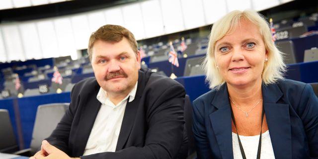Lundgren och Winberg. Arkivbild. FREDRIK PERSSON / TT / TT NYHETSBYRÅN