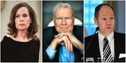 Sara Danius, Kjell Espmark och Peter Englund har lämnat Akademiens arbete TT