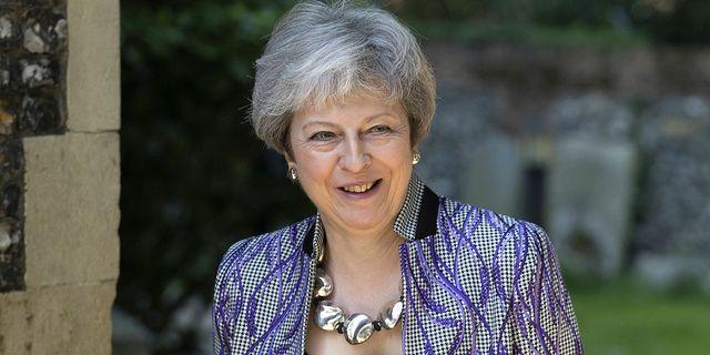 Theresa May. TT.