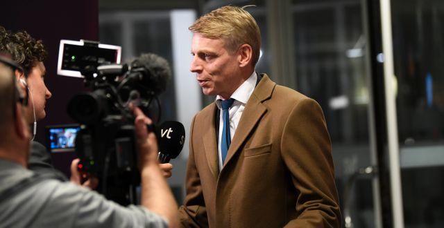 Finansmarknadsminister Per Bolund (MP). Fredrik Sandberg/TT / TT NYHETSBYRÅN