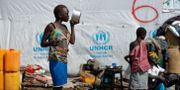 Flyktingläger i norra Uganda/Arkivbild. Ben Curtis / TT NYHETSBYRÅN