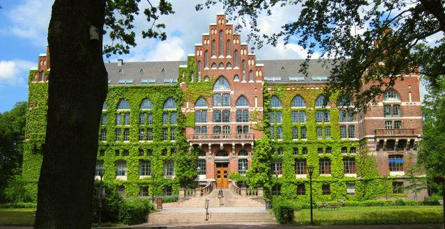 Universitetsbiblioteket i Lund.  Wikimedia commons.