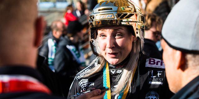 Sara Carlström. TOBIAS STERNER / BILDBYRÅN
