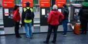 Problem med de nya biljettautomaterna på Malmö Central. Johan Nilsson/TT / TT NYHETSBYRÅN