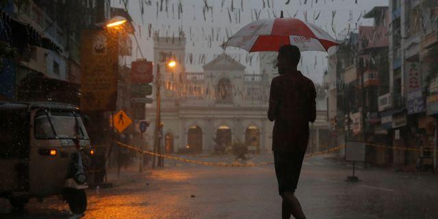 Bild från Colombo idag. THOMAS PETER / TT NYHETSBYRÅN
