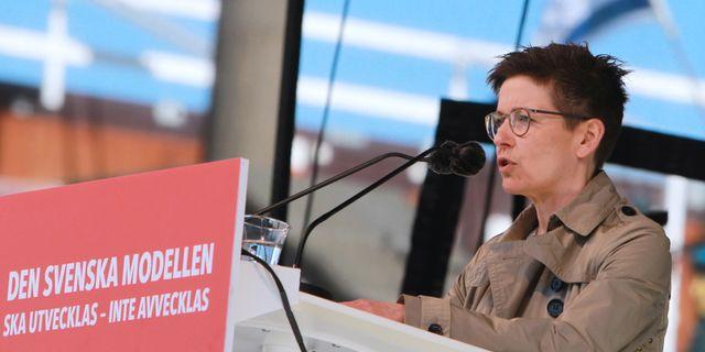 Ann-Sofie Hermansson. Frida Winter/TT / TT NYHETSBYRÅN