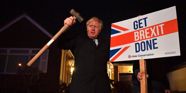Boris Johnson. BEN STANSALL / POOL