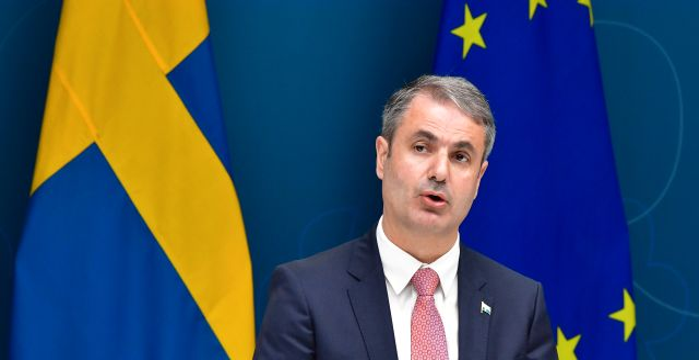 Näringsminister Ibrahim Baylan (S) Jonas Ekströmer/TT / TT NYHETSBYRÅN