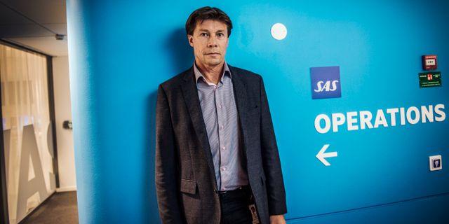 SAS flygchef Rolf Bakken. Yvonne Åsell/SvD/TT / TT NYHETSBYRÅN