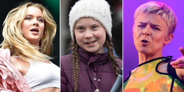 Zara Larsson / Greta Thunberg / Robyn.  TT