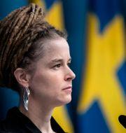 Amanda Lind.  Christine Olsson/TT / TT NYHETSBYRÅN