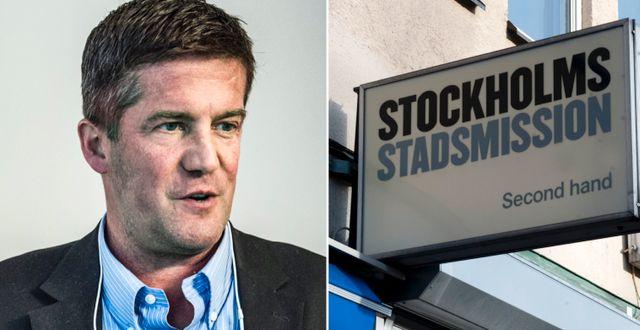 SBB-chefen Ilja Batljan. Stockholms Stadsmission. Arkivbilder. TT
