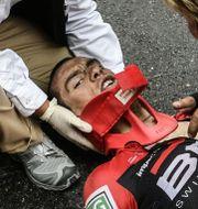 Richie Porte. PHILIPPE LOPEZ / AFP