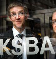 Vice riksbankscheferna Martin Flodén och Cecilia Skingsley. Arkivbild. Tomas Oneborg / SvD / TT / TT NYHETSBYRÅN