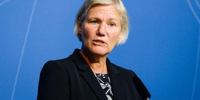 Ann-Marie Begler. Bertil Ericson/TT / TT NYHETSBYRÅN