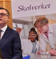 Skolverkets genrealdirektör Peter Fredriksson. Jonas Ekströmer/TT / TT NYHETSBYRÅN