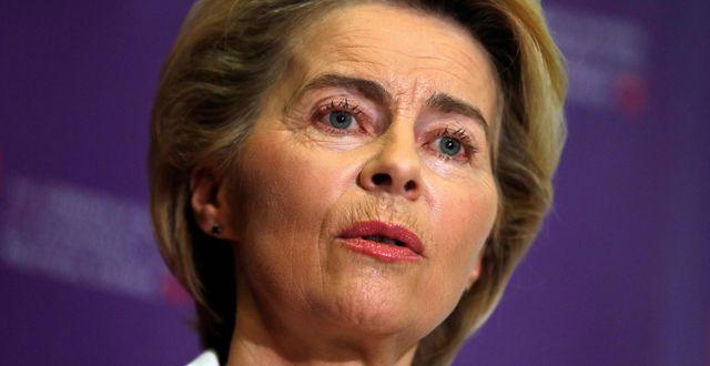 Ursula von der Leyen ADRIAN DENNIS / AFP